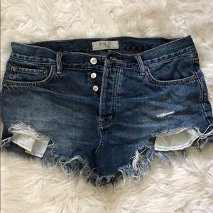 Free People We the Free Shorts Size 29